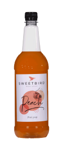 Sweetbird Peach Syrup - 1 Litre